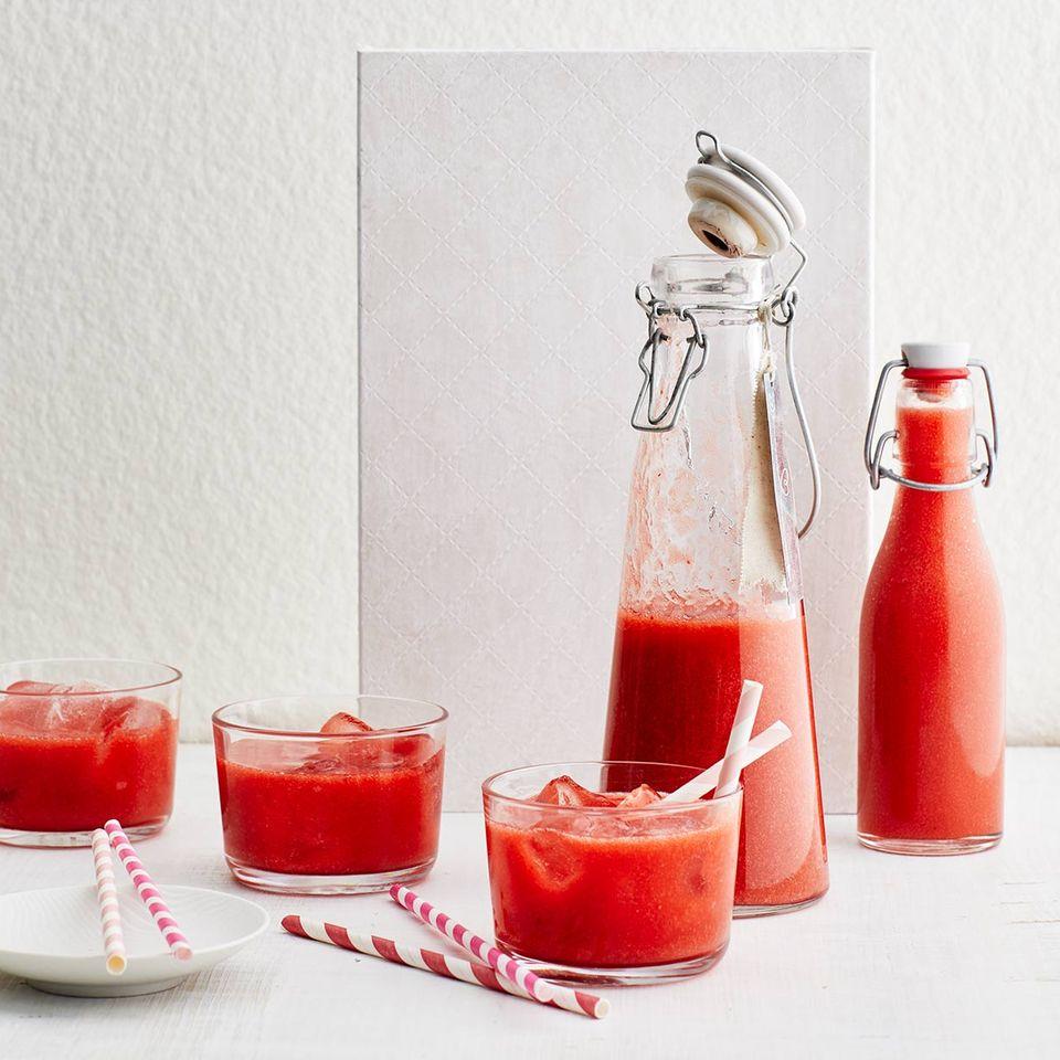 Erdbeer-Rhabarber-Limes für Thermomix ®