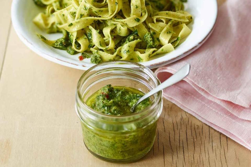 Petersilien-Chili-Pesto Rezept