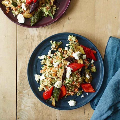 Couscous-Salat mit Ofengemüse