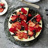 Joghurt-Erdbeer-Tarte