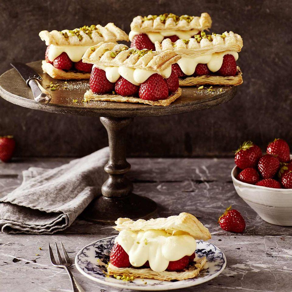 Erdbeer-Napoleons