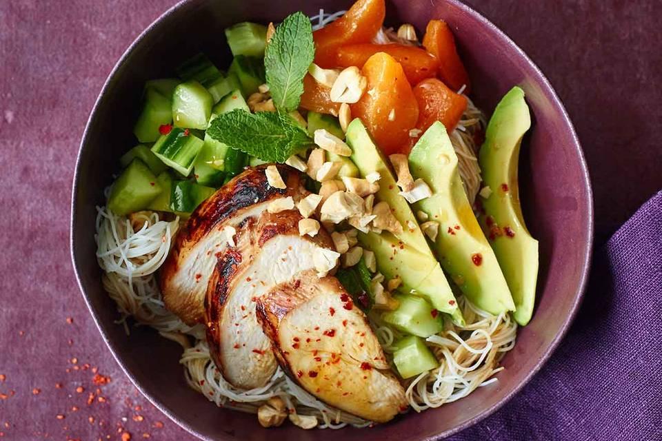 Vietnamesische Reisnudel-Bowl Rezept
