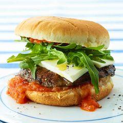 Pilz-Burger