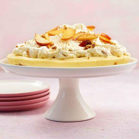 Vanille-Pfirsich-Tarte