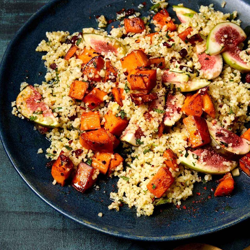 Feigen-Süßkartoffel-Salat