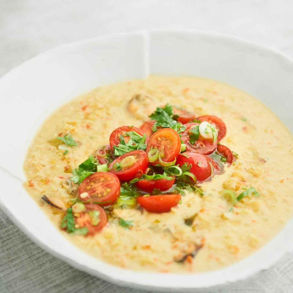 Linsen-Muschel-Curry