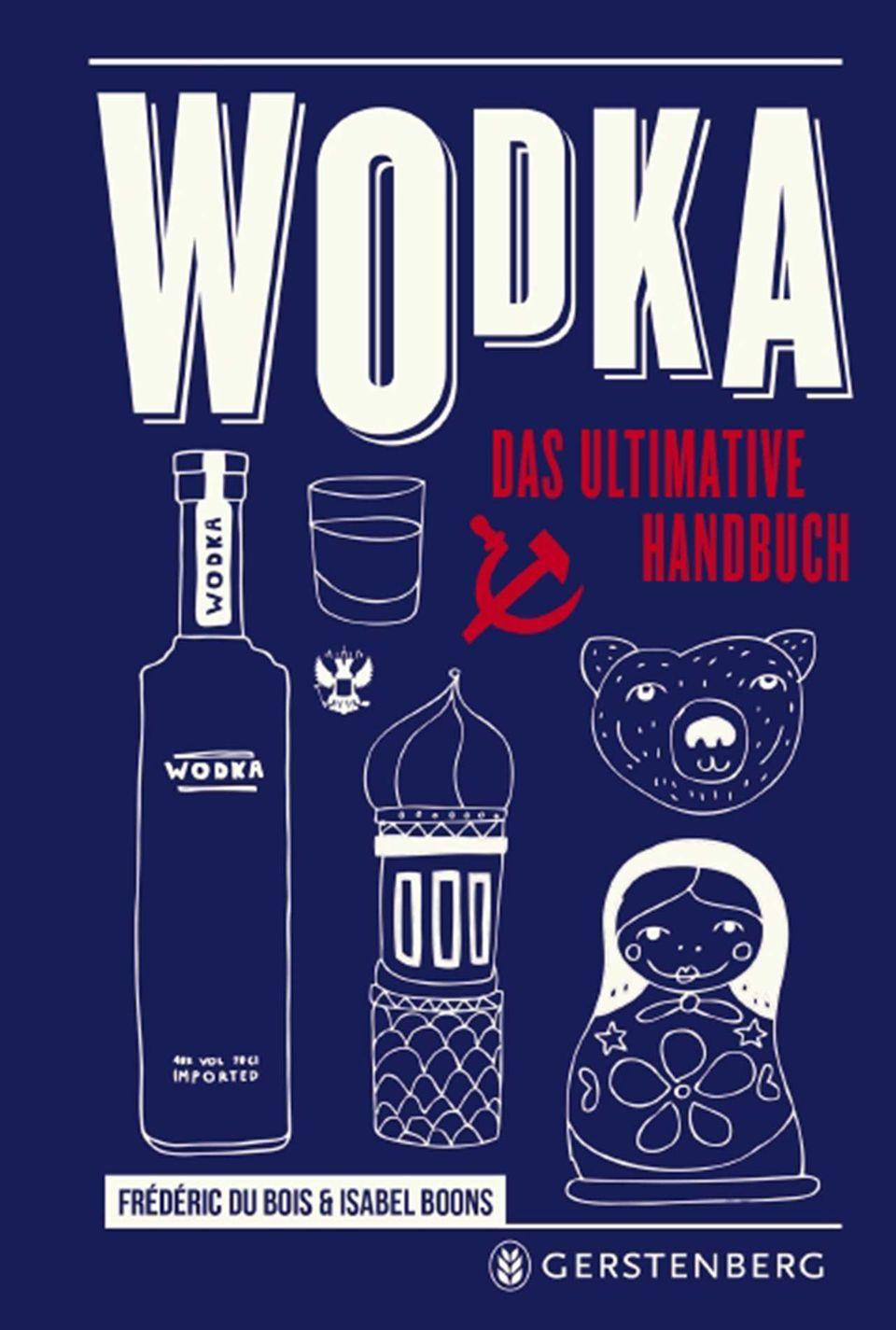 """Buchcover """"Wodka: das ultimative Handbuch"""""""