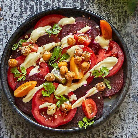 Rote-Bete-Tomaten-Carpaccio