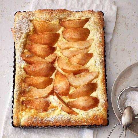 Birnen-Schmand-Kuchen vom Blech