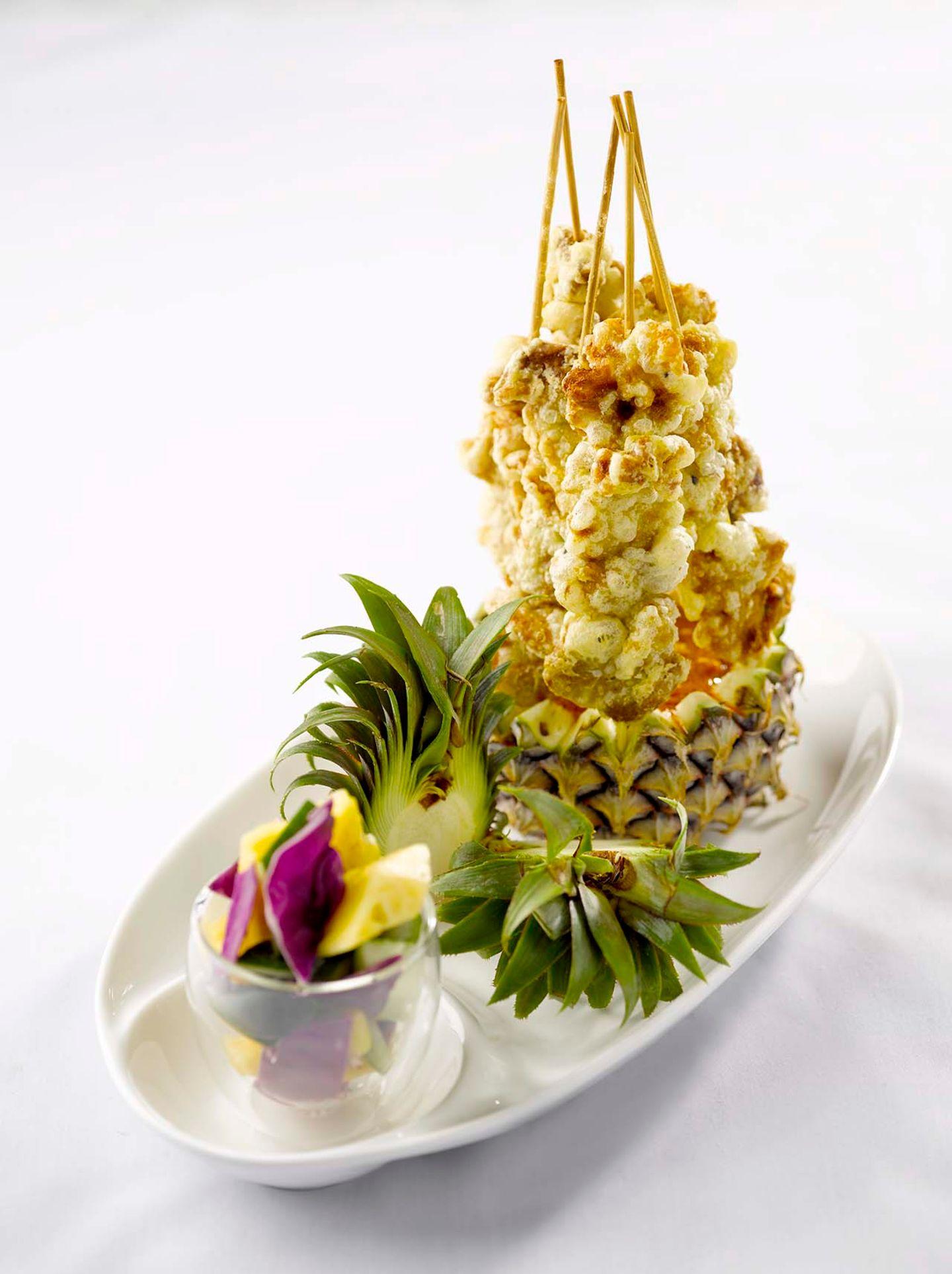Wunderschöne Kreationen im LingZhi Vegetarian