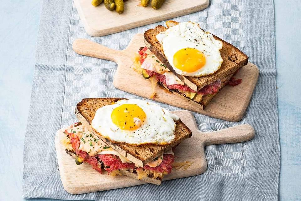 Reuben-Sandwich Rezept