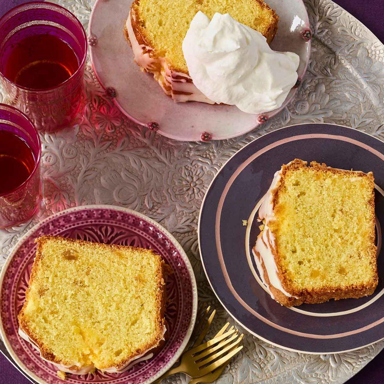 Orangen-Ingwer-Kuchen