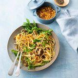 Spaghetti mit Ölsardinen