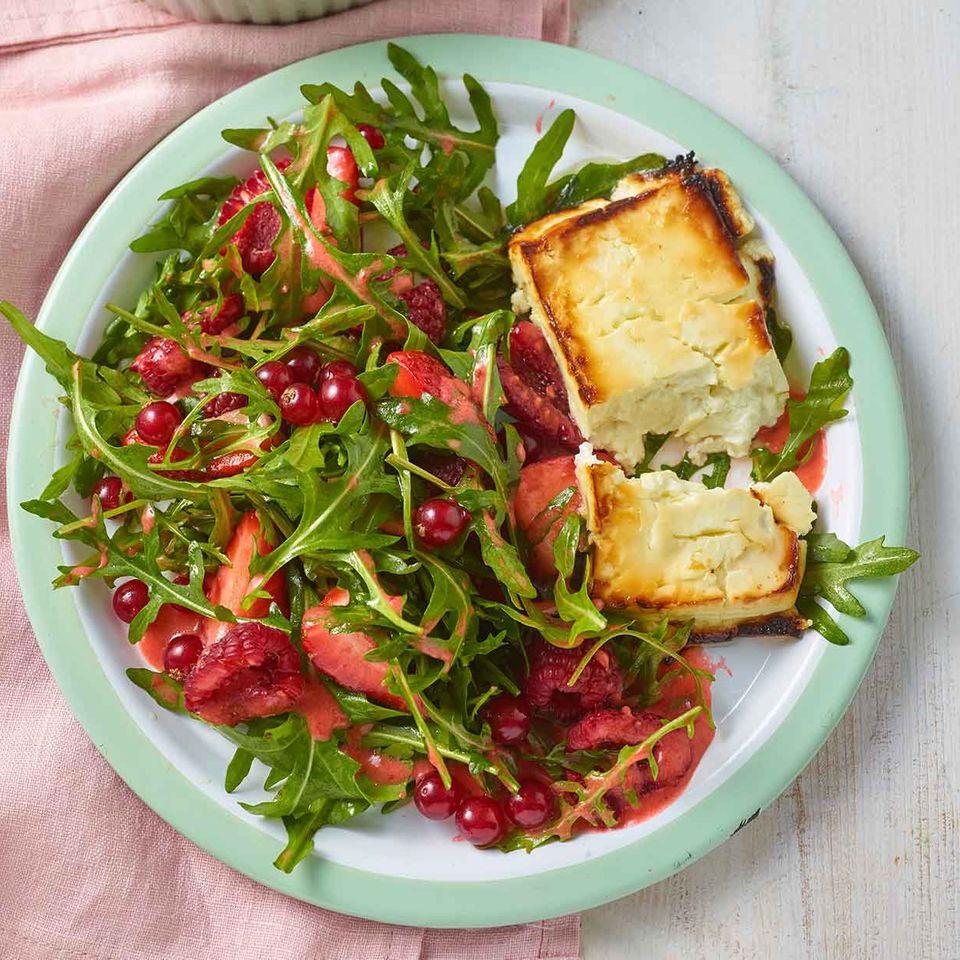 Beeren-Rauke-Salat