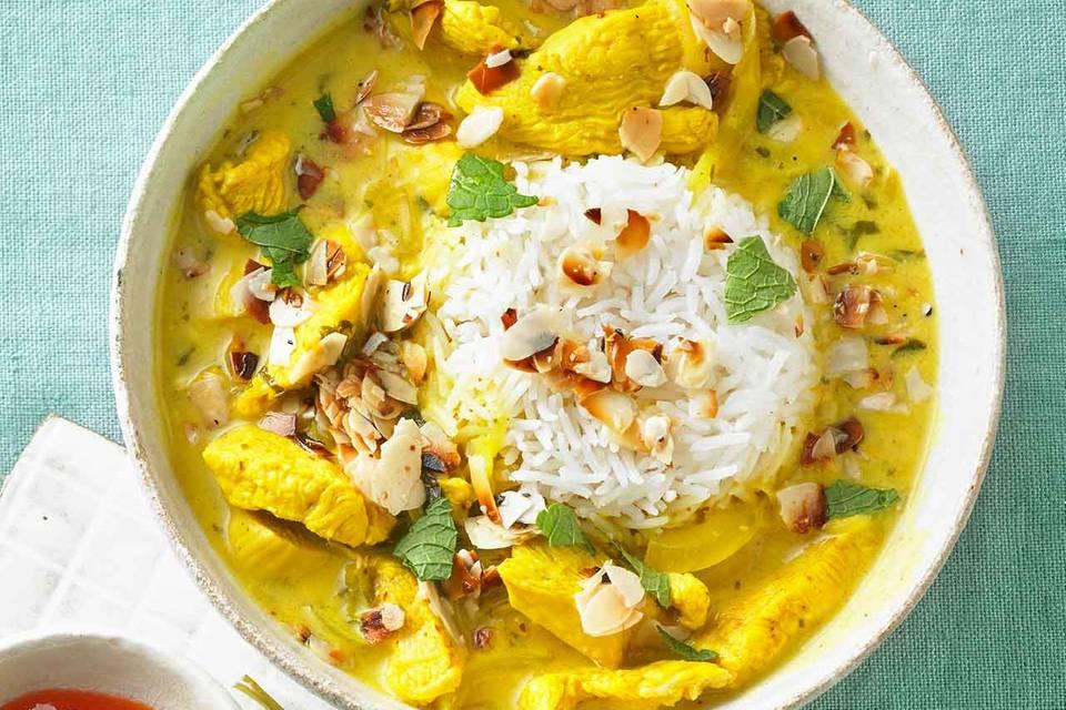 Indisches Hähnchencurry Rezept