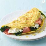 Spinat-Ricotta-Omelett