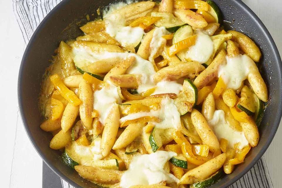 Schupfnudel-Gemüse-Pfanne Rezept