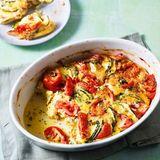 Tomaten-Zucchini-Frittata