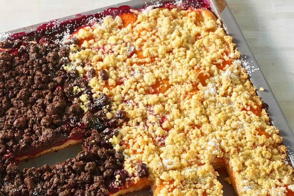Obst-Streusel-Kuchen Rezept