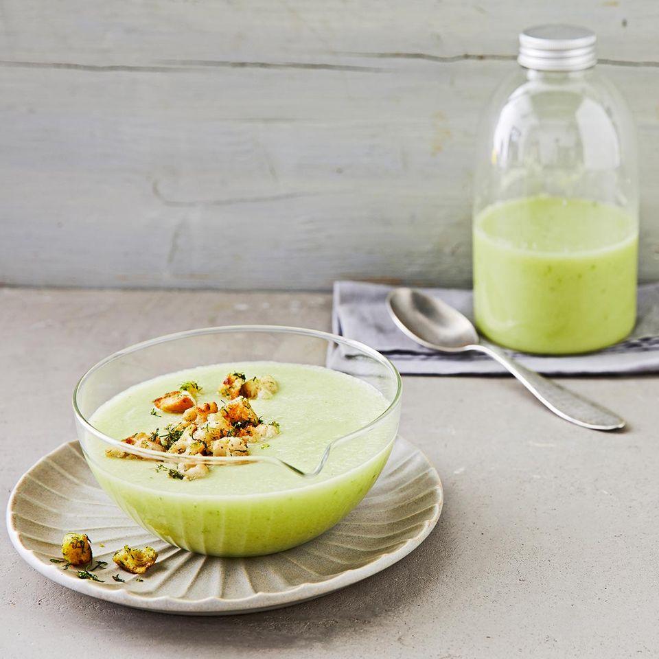 Gurken-Melonen-Suppe für Thermomix ®
