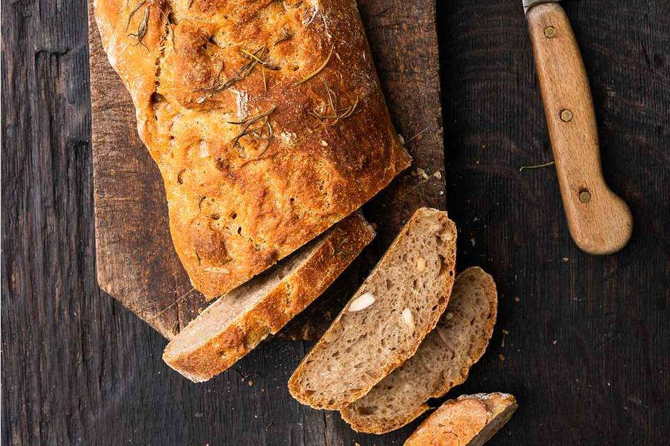 Nuss-Kartoffel-Malz-Brot Rezept