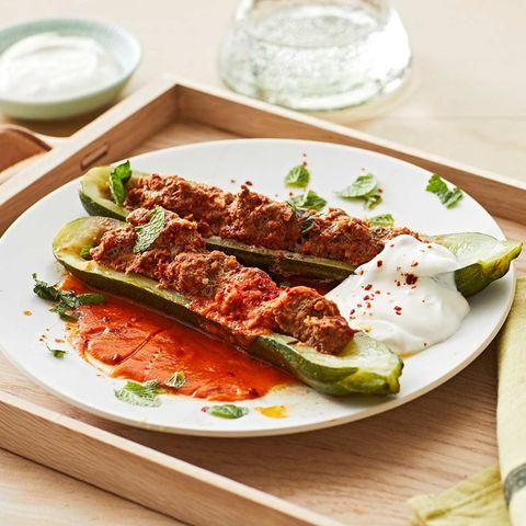 Zucchini mit Hackfüllung für Thermomix ®