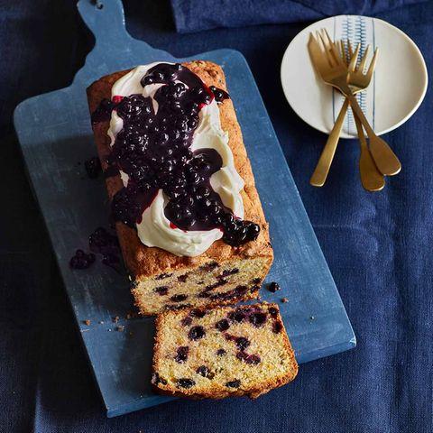 Blaubeer-Marzipan-Kuchen