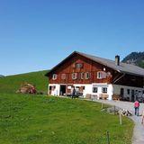 Alp Hüttismatt auf dem Alpkäse-Trail in Engelberg