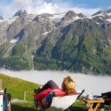 Bergpanorama von der Fürenalp