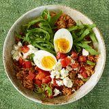Reis-Bowl mit Ei