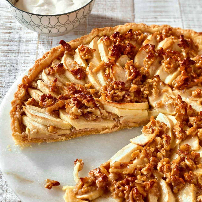Apfel Walnuss Tarte Rezept Essen Und Trinken