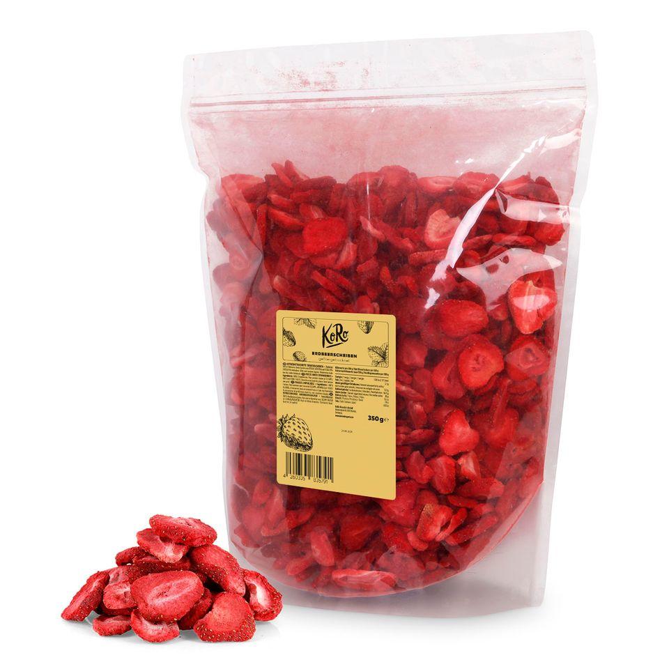 Gefriergetrocknete Erdbeeren