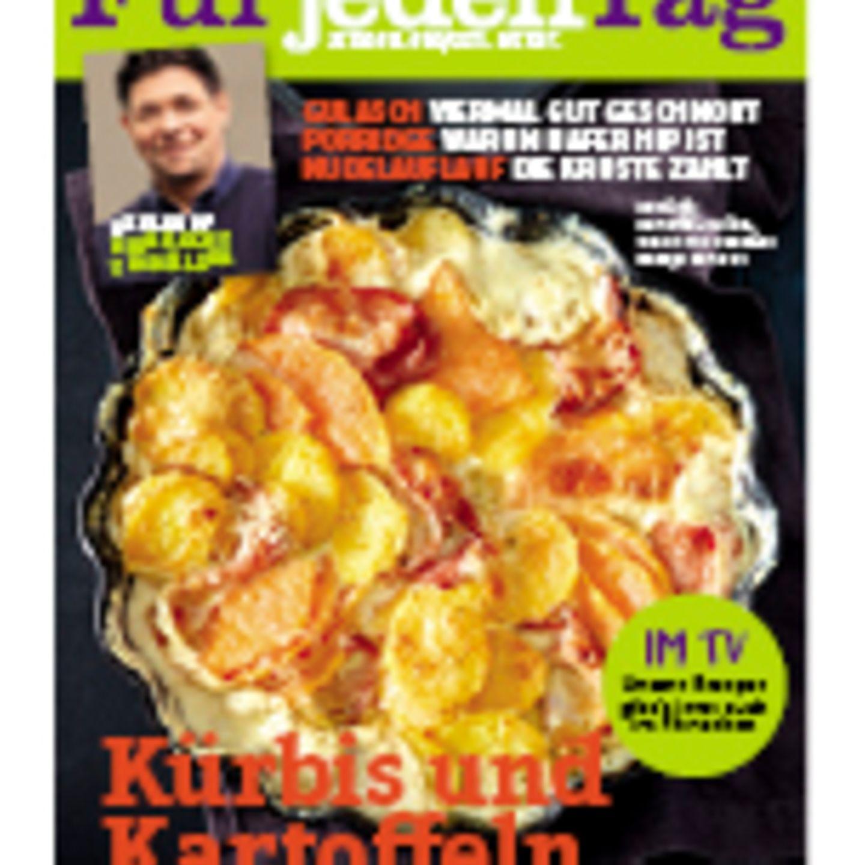 """essen & trinken Für jeden Tag Cover """"Kürbis und Kartoffeln"""""""