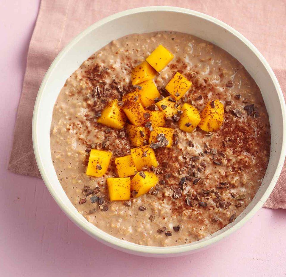 Kurkuma-Orangen-Porridge