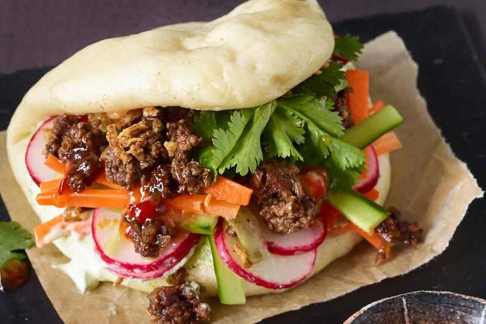 Gua-Bao-Burger Rezept