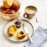 Kürbis-Muffin-Brötchen