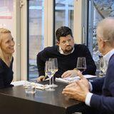 Christina Hollstein und Jan Spielhagen im Gespräch mit Hubertus Meyer-Burckhardt