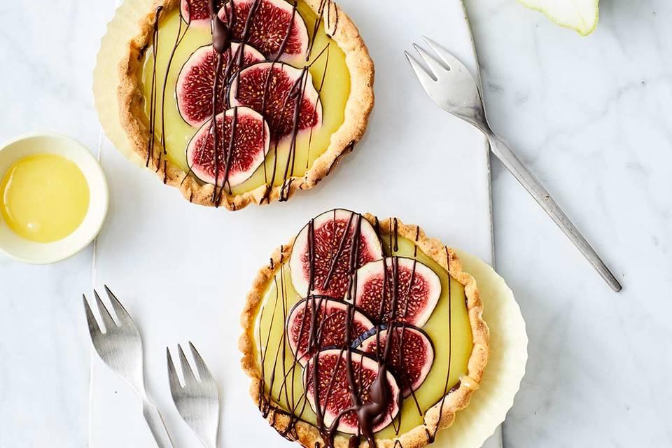 Lemon-Curd-Tartelettes mit Ingwer Rezept