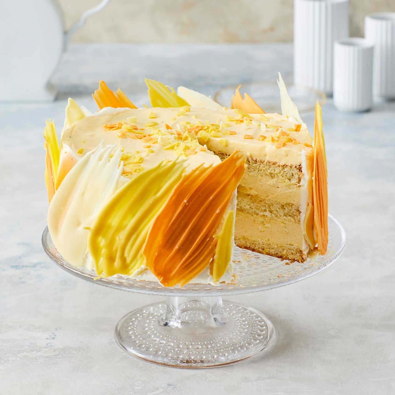 Mango-Brushstroke-Torte