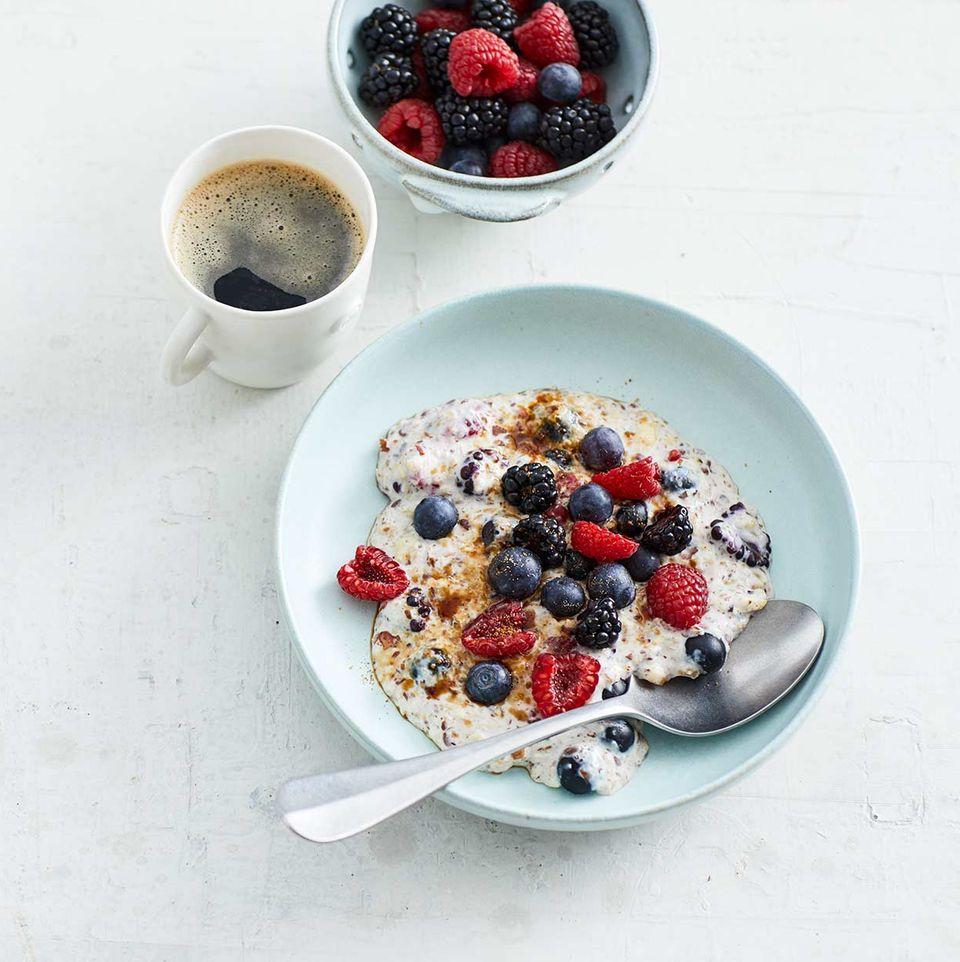 Low-Carb-Porridge mit Beeren für Thermomix®