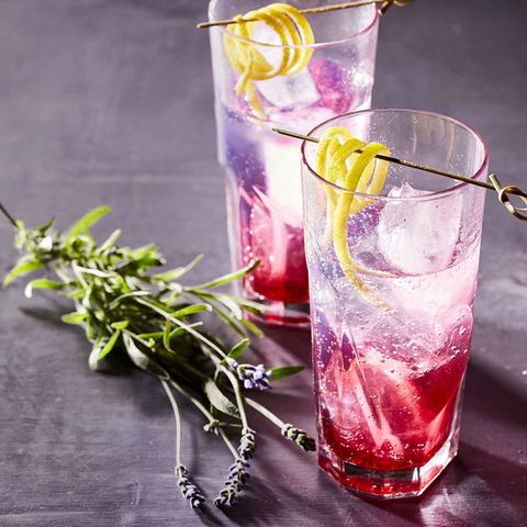 Heidelbeer-Lavendel-Mocktail