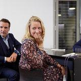 Ralf Dümmel, Christina Hollstein und Jan Spielhagen warten auf Essen im Podcast Quatschen mit Sauce