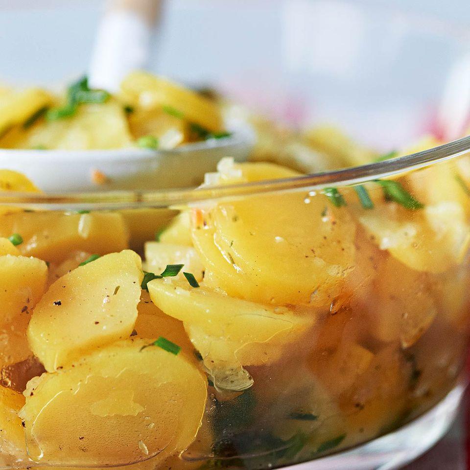 Achims Kartoffelsalat. essen und trinken Für jeden Tag