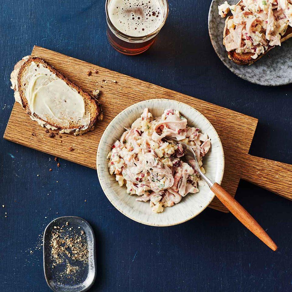 Käse-Kasseler-Salat für Thermomix ®