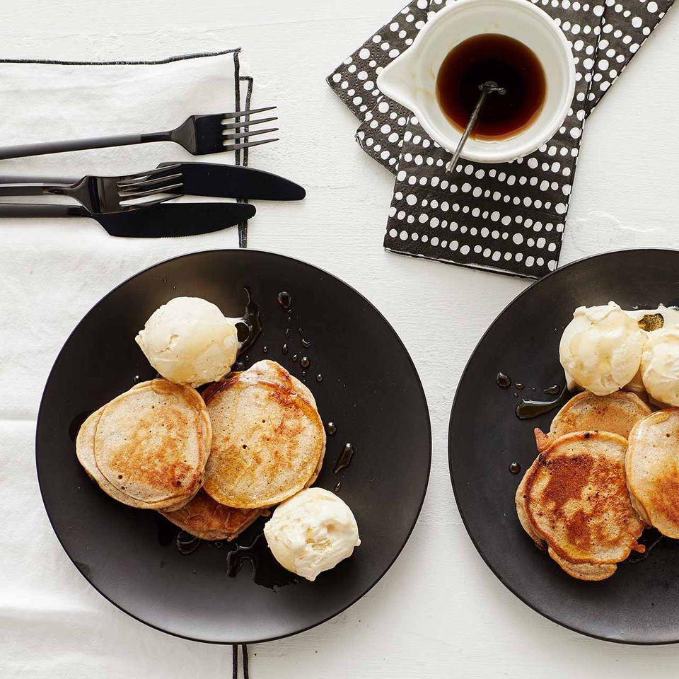 Bananen-Schoko-Pancakes für Thermomix ®