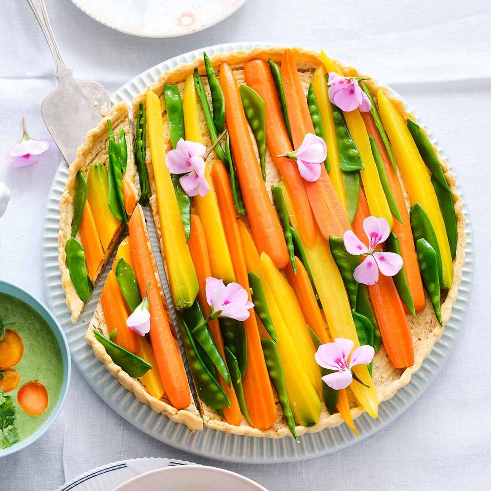 Mandel-Frischkäse-Tarte