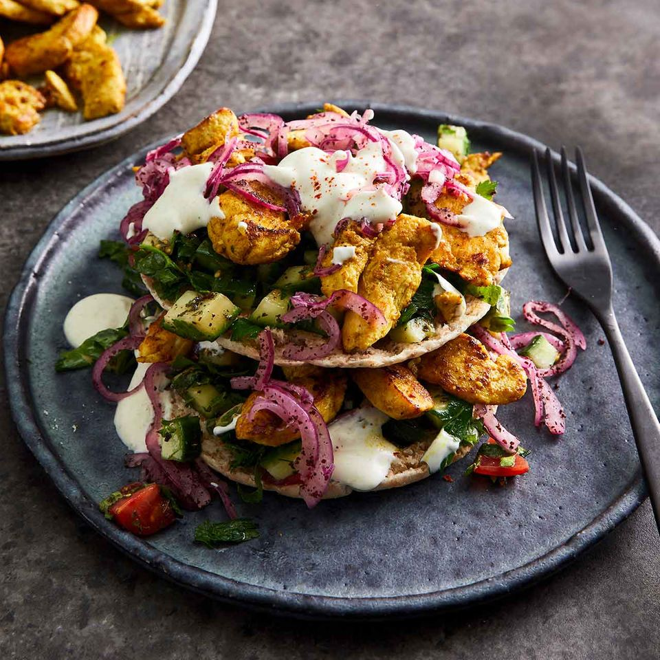 Shawarma-Tacos