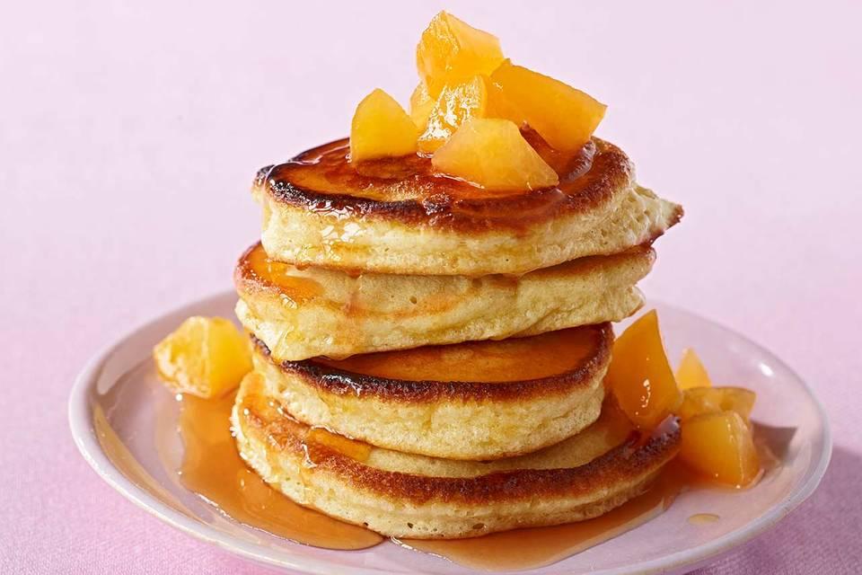 Pancakes mit Aprikosen Rezept