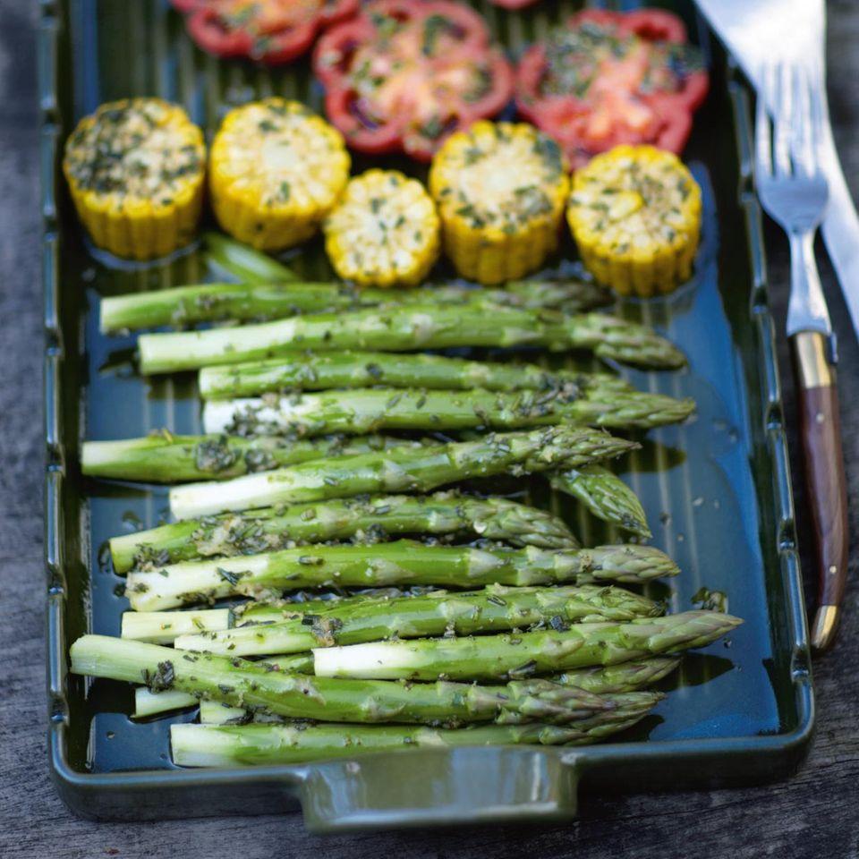 Spargel grillen: Rezepte Tipps für Spargel vom Grill