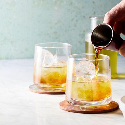Sloe Gin Iced Tea